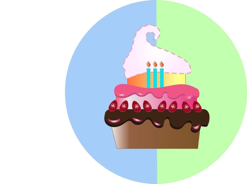 Triple Layered Cupcake  - image 1 - student project