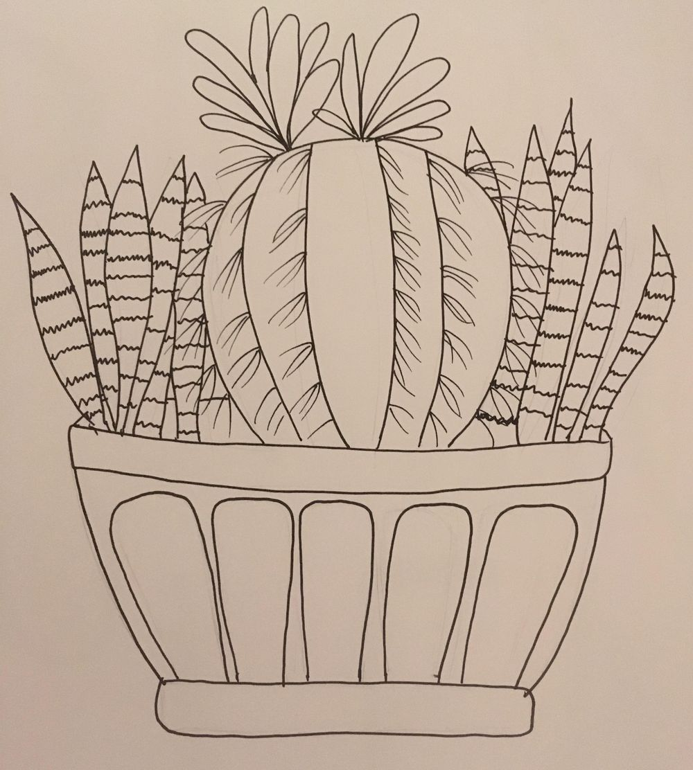 Cactus practice! (Haha, that rhymes.) - image 2 - student project