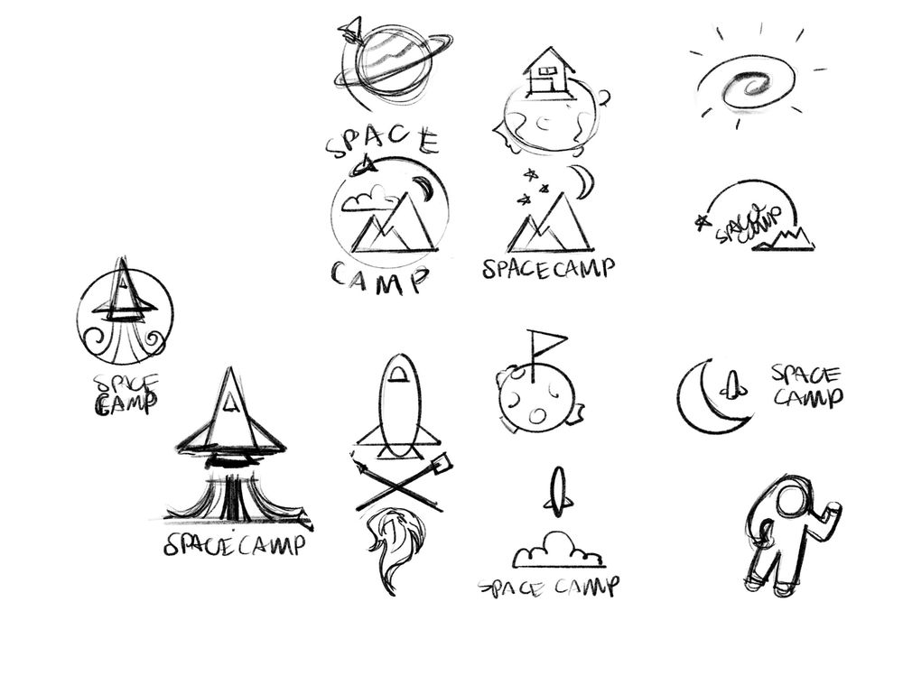 Space Camp Logo - image 2 - student project