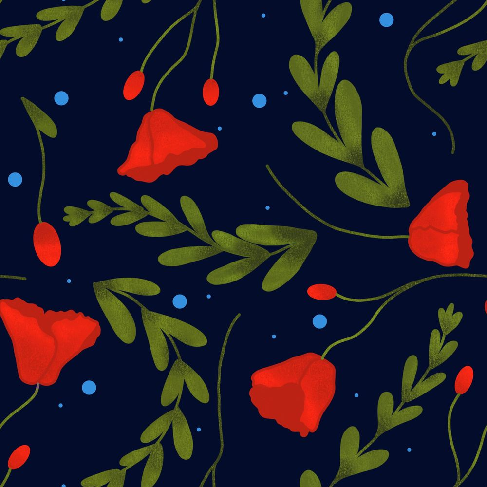 Floral pattern :) - image 1 - student project