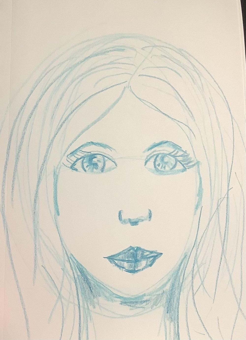Why so blue, girl? - image 1 - student project