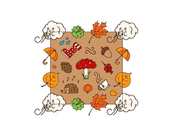 Autumn Pattern - image 3 - student project