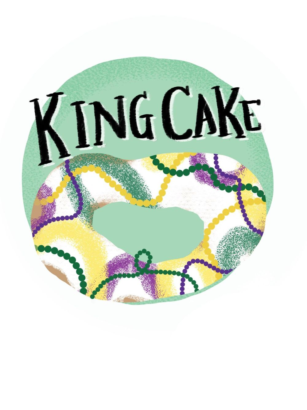 King Cake! - image 1 - student project