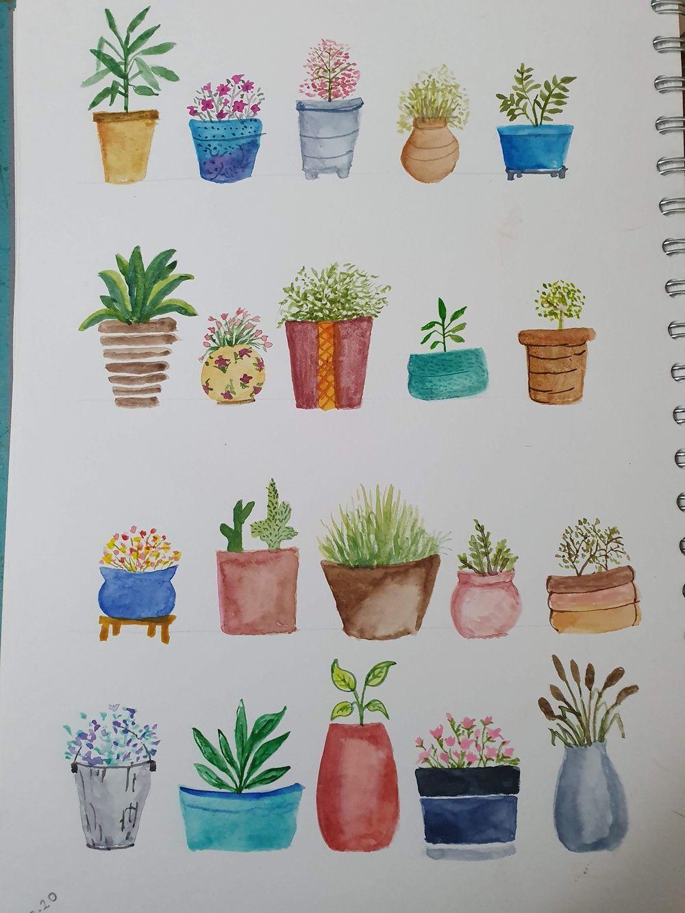Pots - image 1 - student project