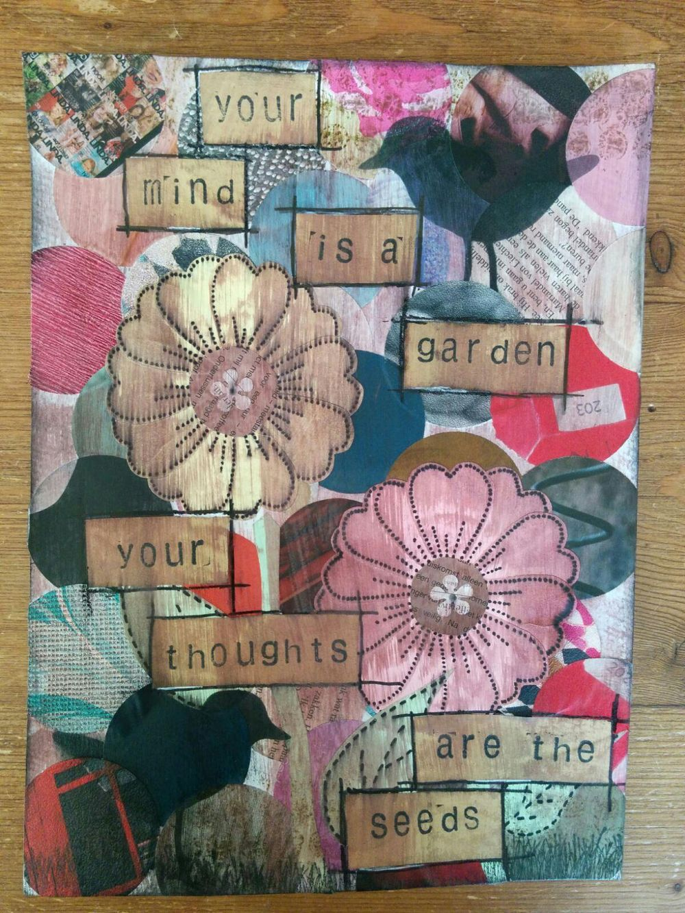 My Mixed Media Projects - image 5 - student project