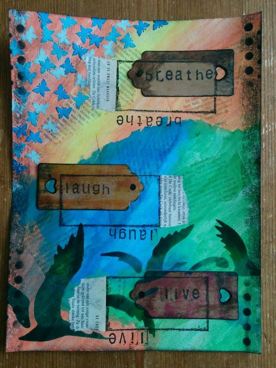 My Mixed Media Projects - image 6 - student project