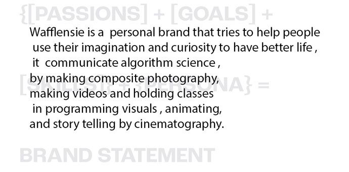 Personal Branding 101 - image 4 - student project