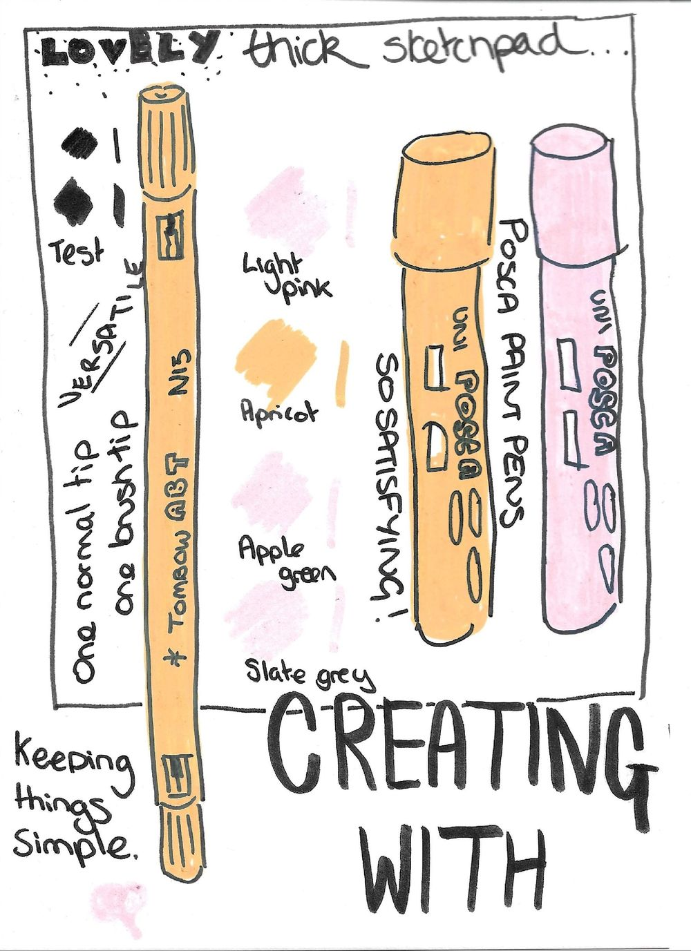Illustrated journalling - image 3 - student project