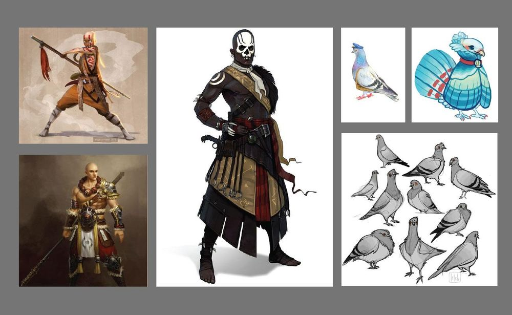 Shaolin Pigeon - image 2 - student project
