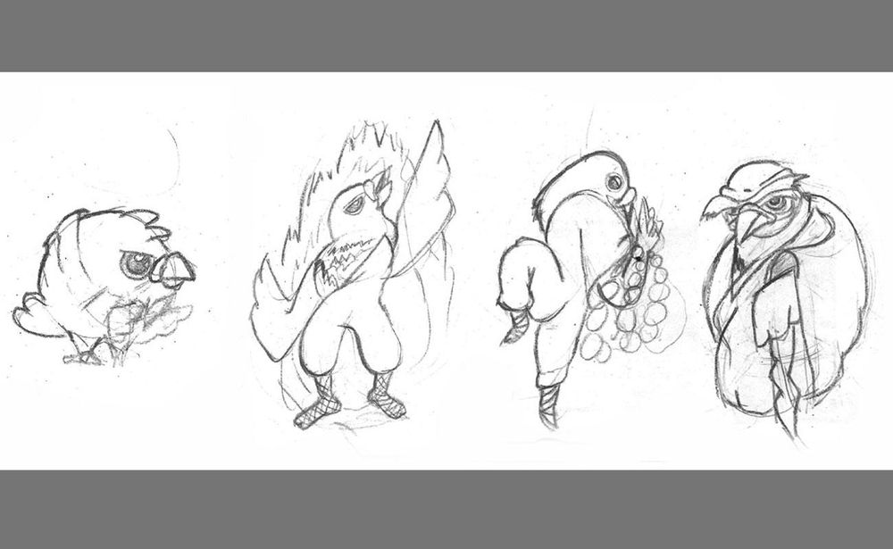 Shaolin Pigeon - image 3 - student project