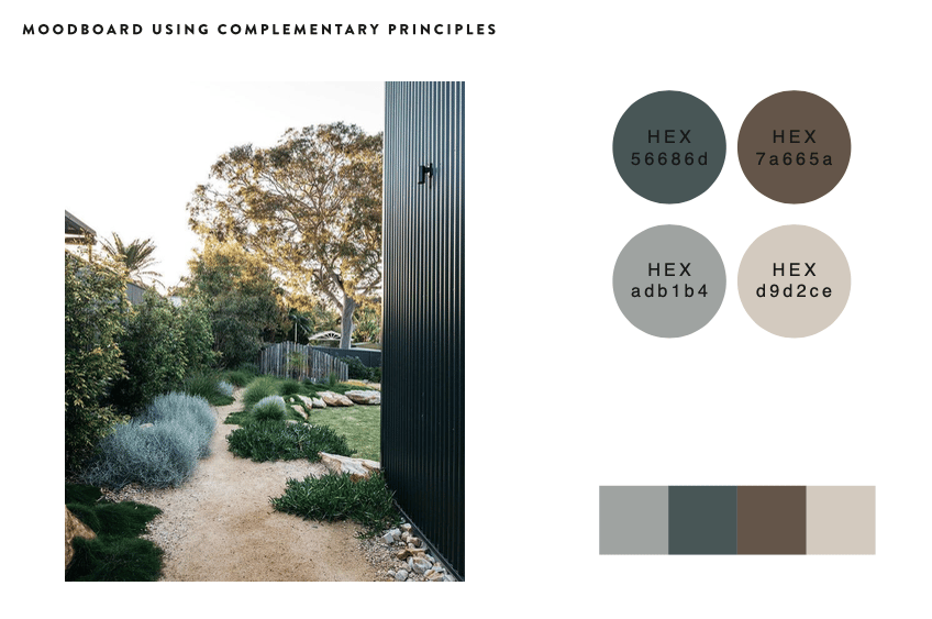 Mood Board & Colour Palettes - image 1 - student project