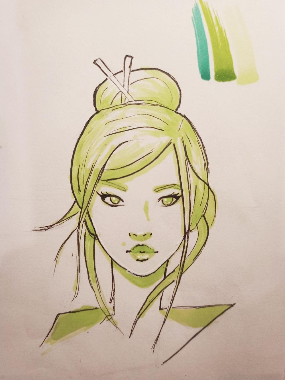Female Character Design - image 2 - student project