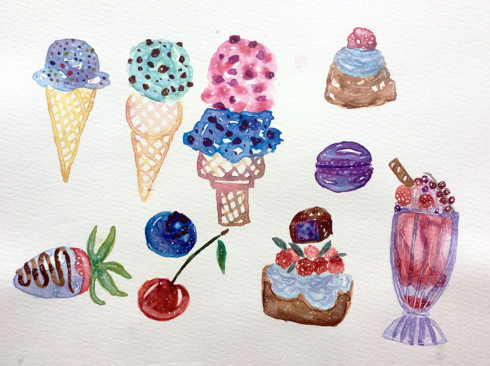 Sweet treats - image 1 - student project