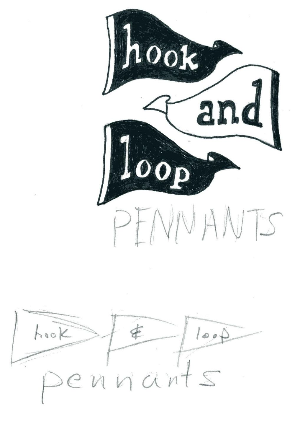 hook and loop pennants - image 3 - student project
