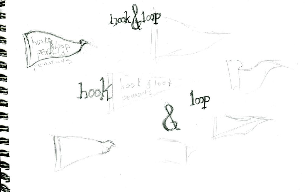 hook and loop pennants - image 4 - student project