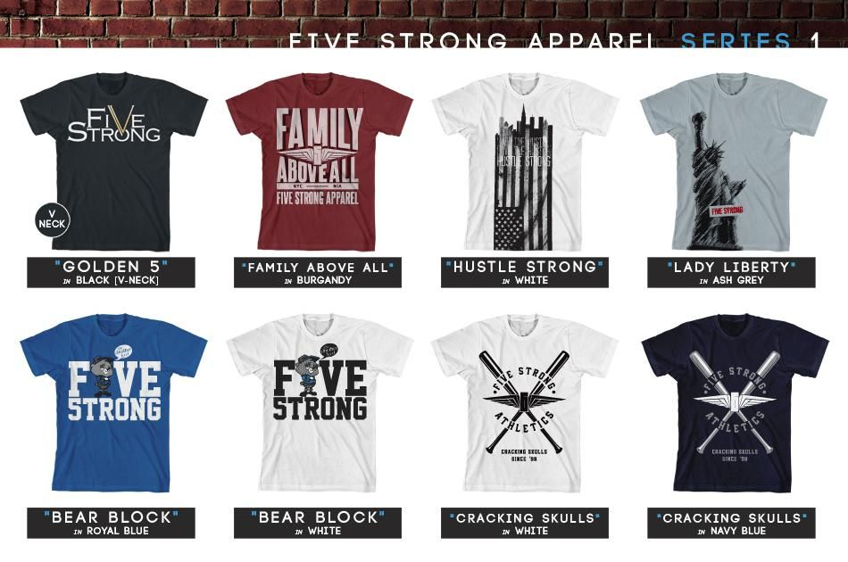 Ryan Black - Five Strong Apparel - image 1 - student project