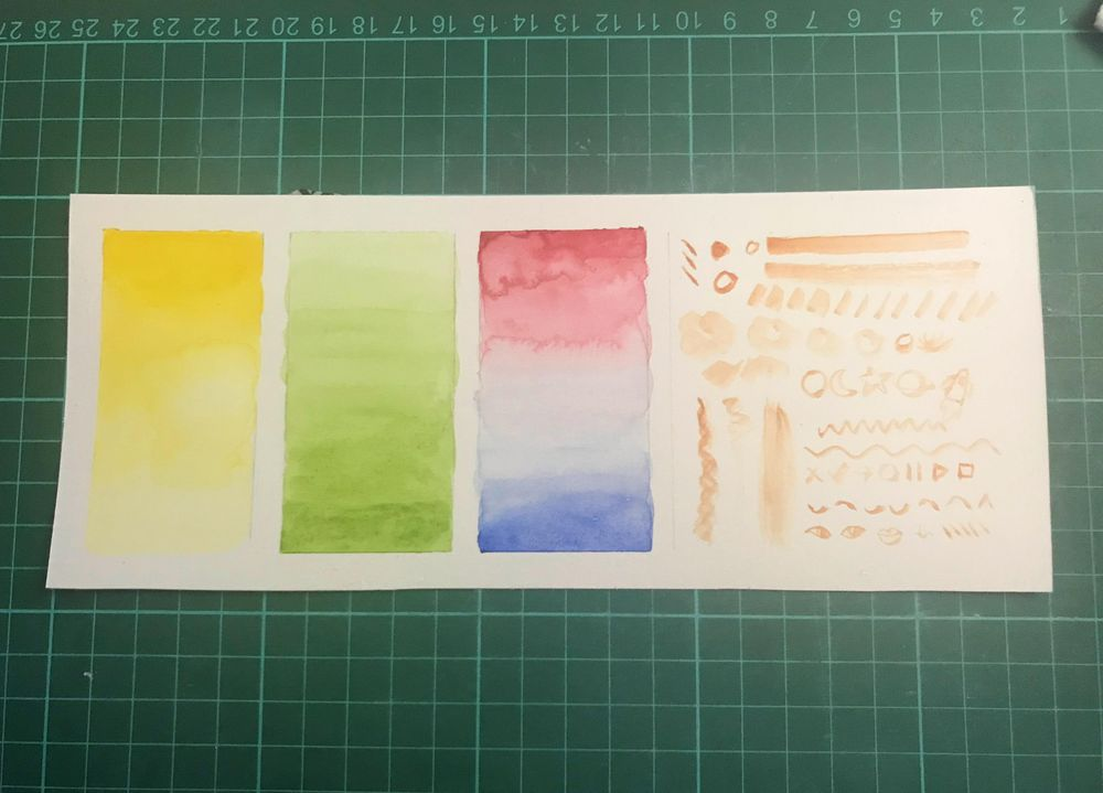 Watercolor project - image 2 - student project