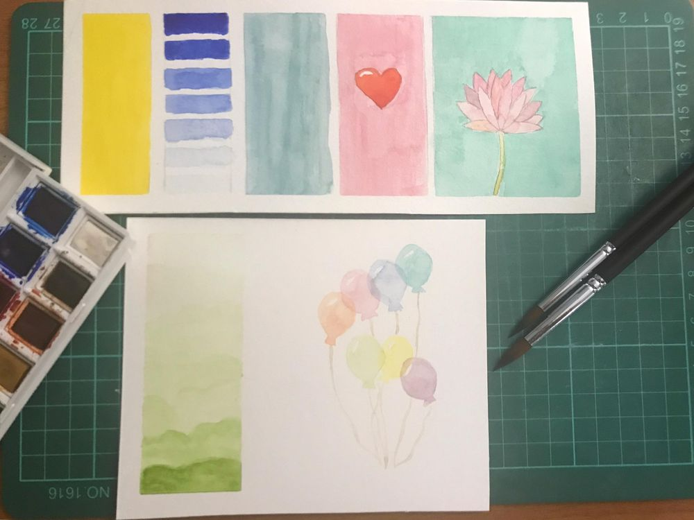 Watercolor project - image 1 - student project