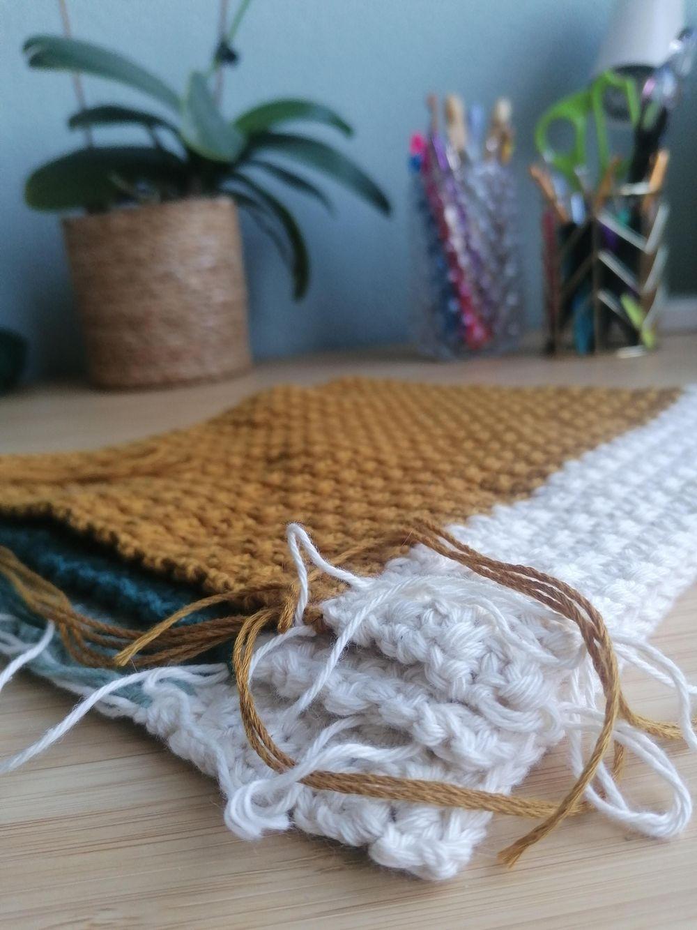 Crochet dishcloth - image 1 - student project