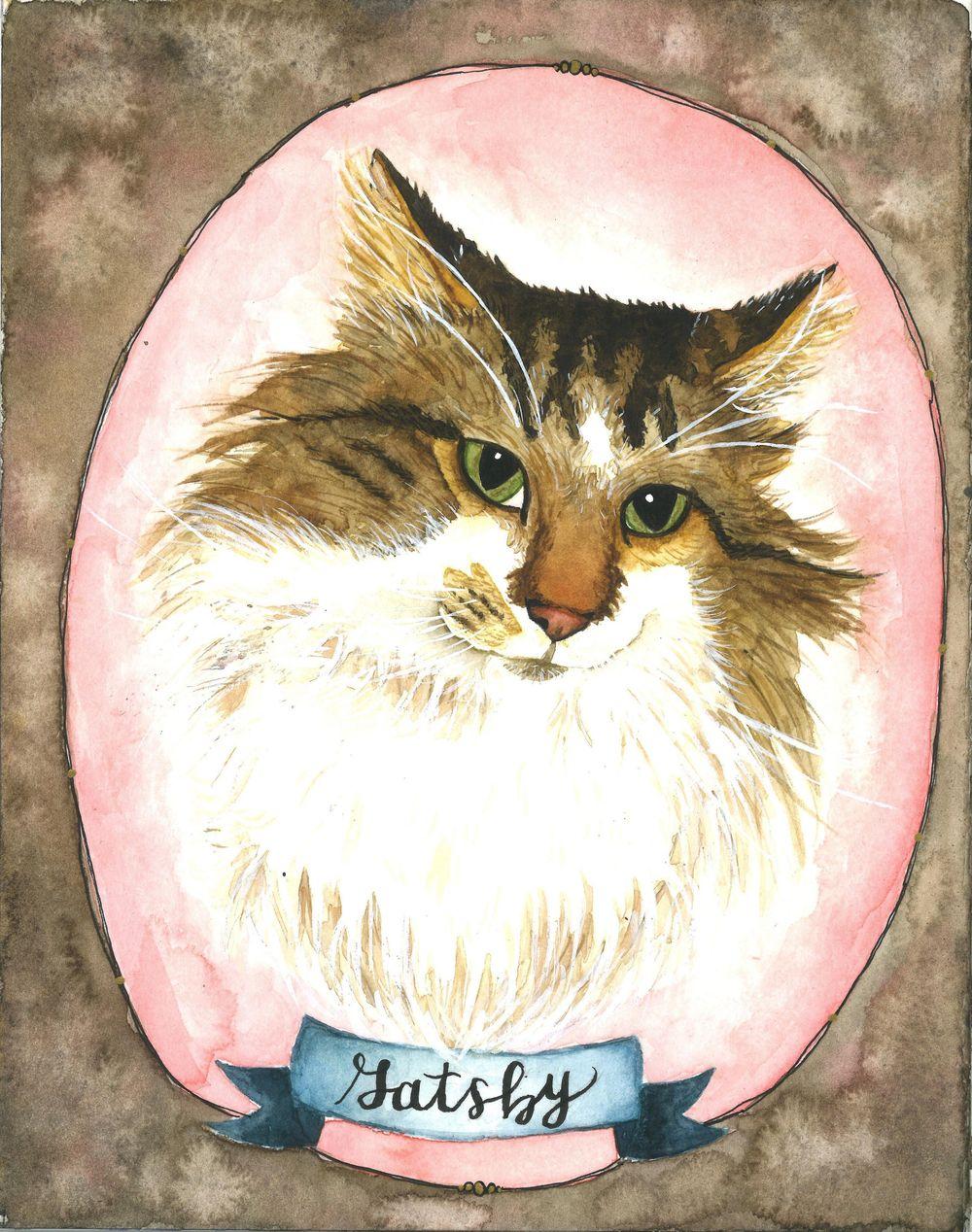Cat Portraits! - image 2 - student project