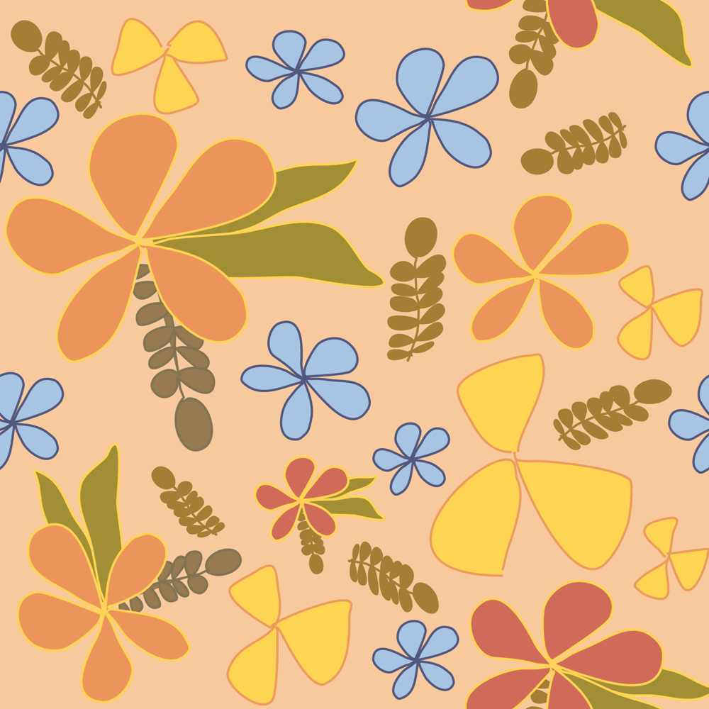 Affinity Design Repeat Pattern - image 3 - student project