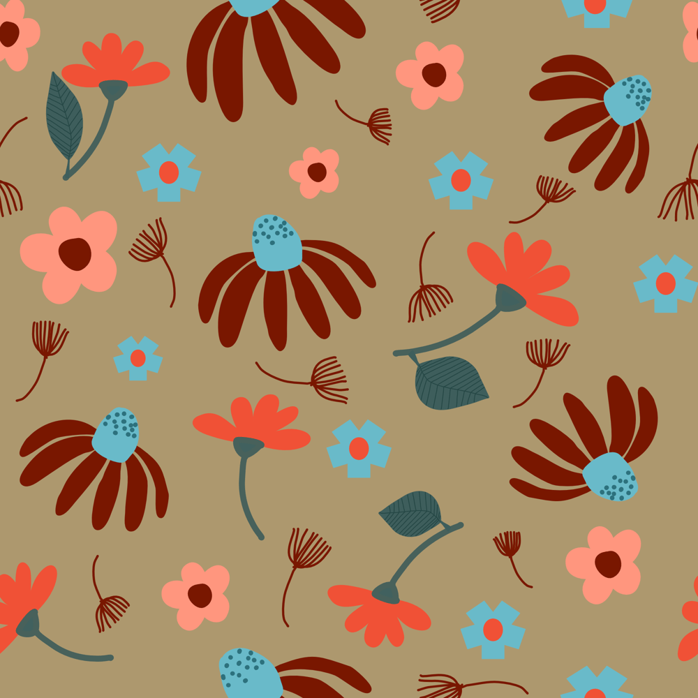 Affinity Design Repeat Pattern - image 1 - student project