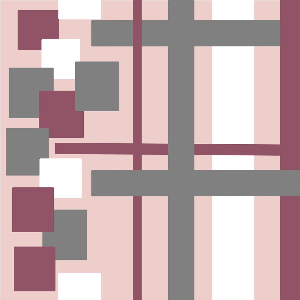 Affinity Design Repeat Pattern - image 2 - student project