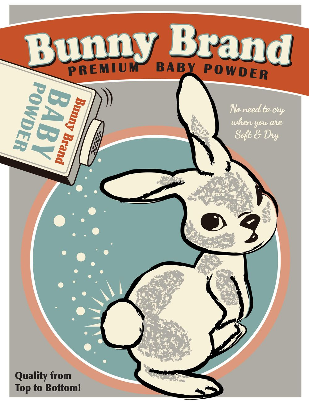 Bunny Brand vintage ad - image 3 - student project