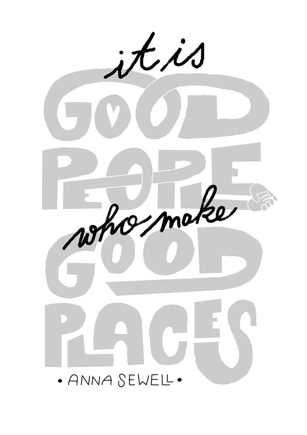 It is good people who make good places - image 3 - student project