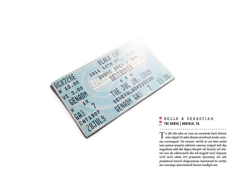 Ticket Stubs - image 4 - student project