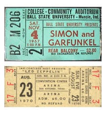 Ticket Stubs - image 1 - student project