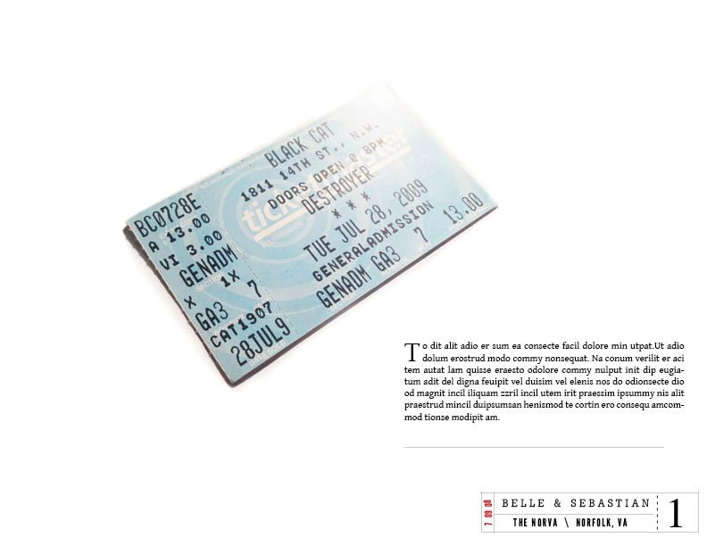 Ticket Stubs - image 3 - student project