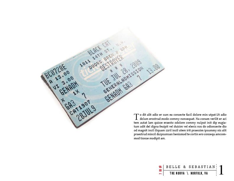Ticket Stubs - image 2 - student project