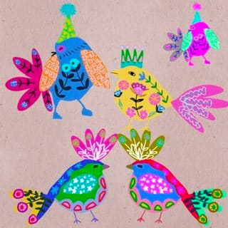 Bird festivities - image 1 - student project