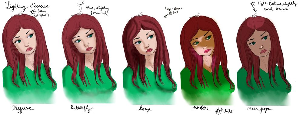 Coloring Female Characters - image 3 - student project
