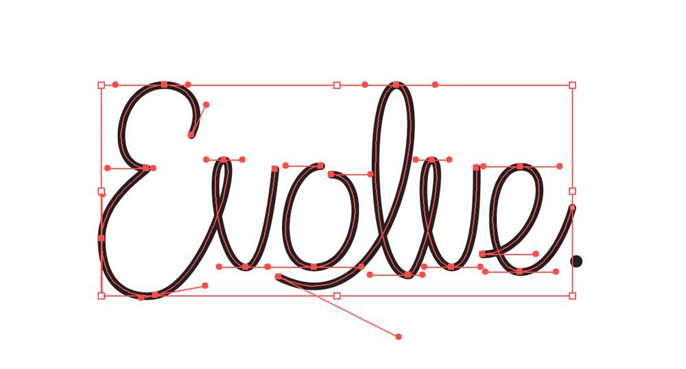 Evolve Monoline styled - image 2 - student project