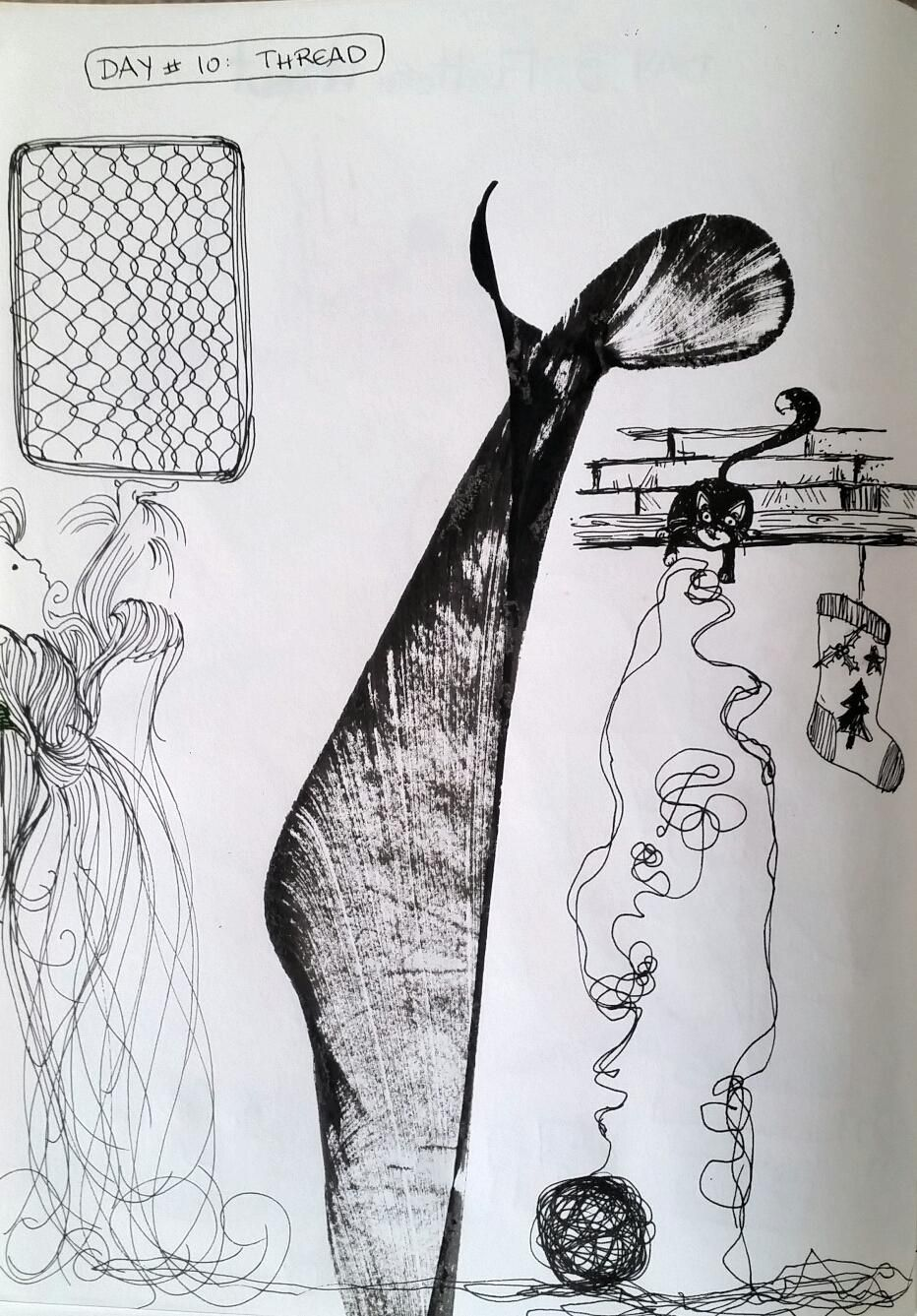 Kayla's Fearless Drawings - complete - image 10 - student project