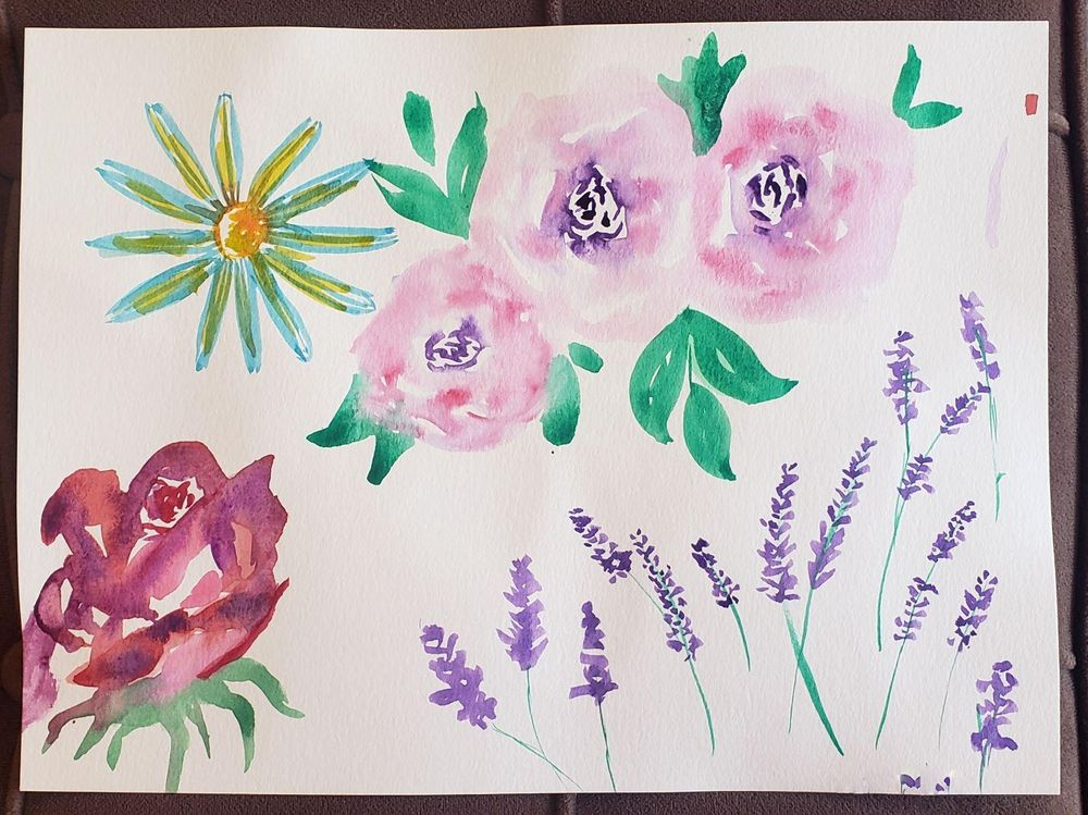 Loose Flowers study - image 3 - student project