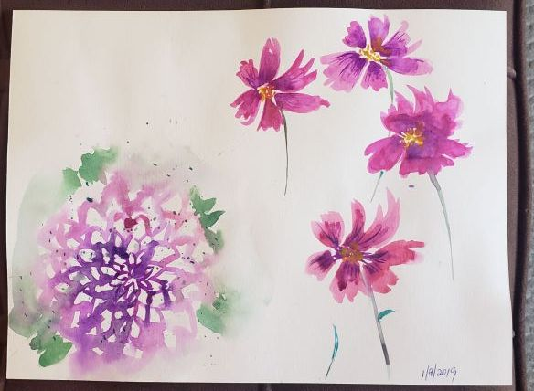 Loose Flowers study - image 1 - student project