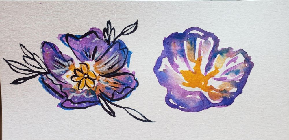 Loose Flowers study - image 2 - student project