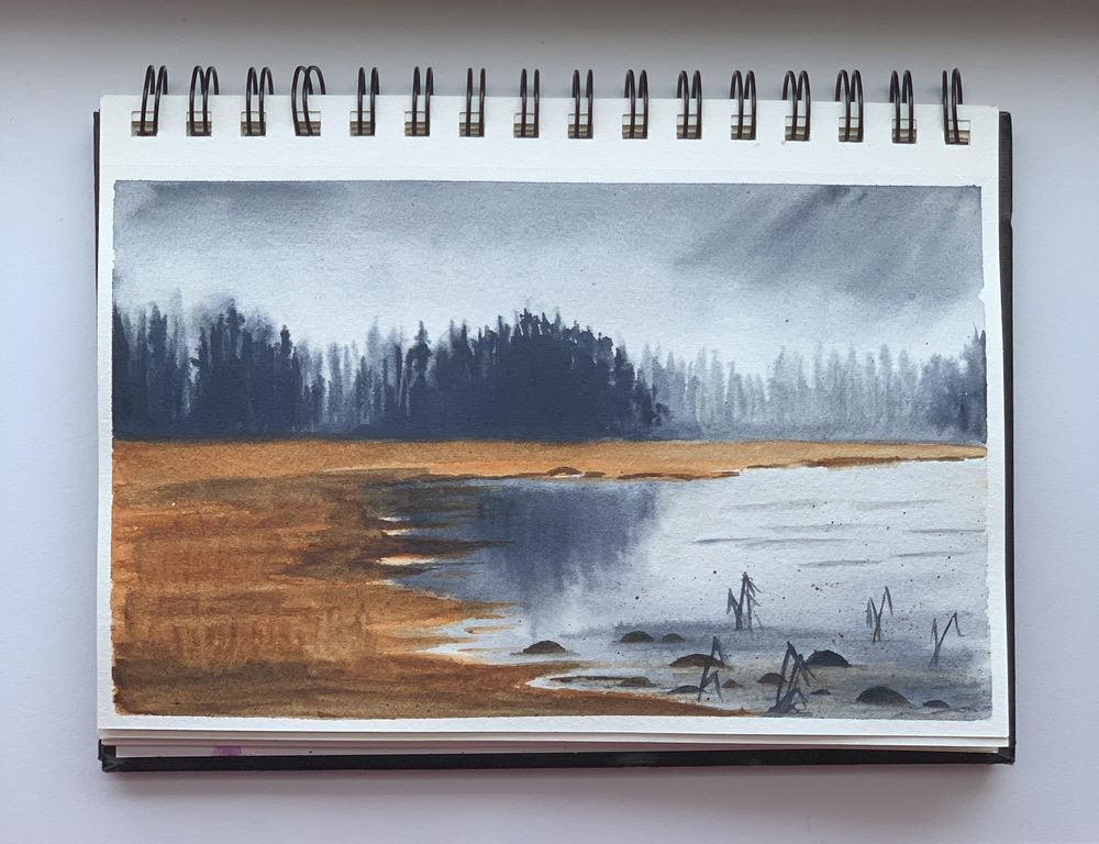 Moody Landscapes - image 4 - student project