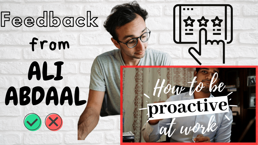 How to be proactive at work - image 1 - student project