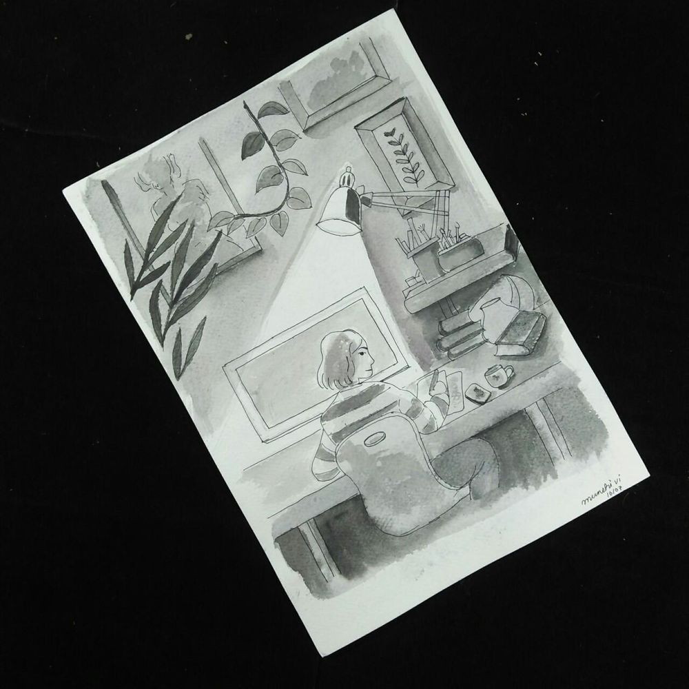 Drawing with light and shadows - image 1 - student project