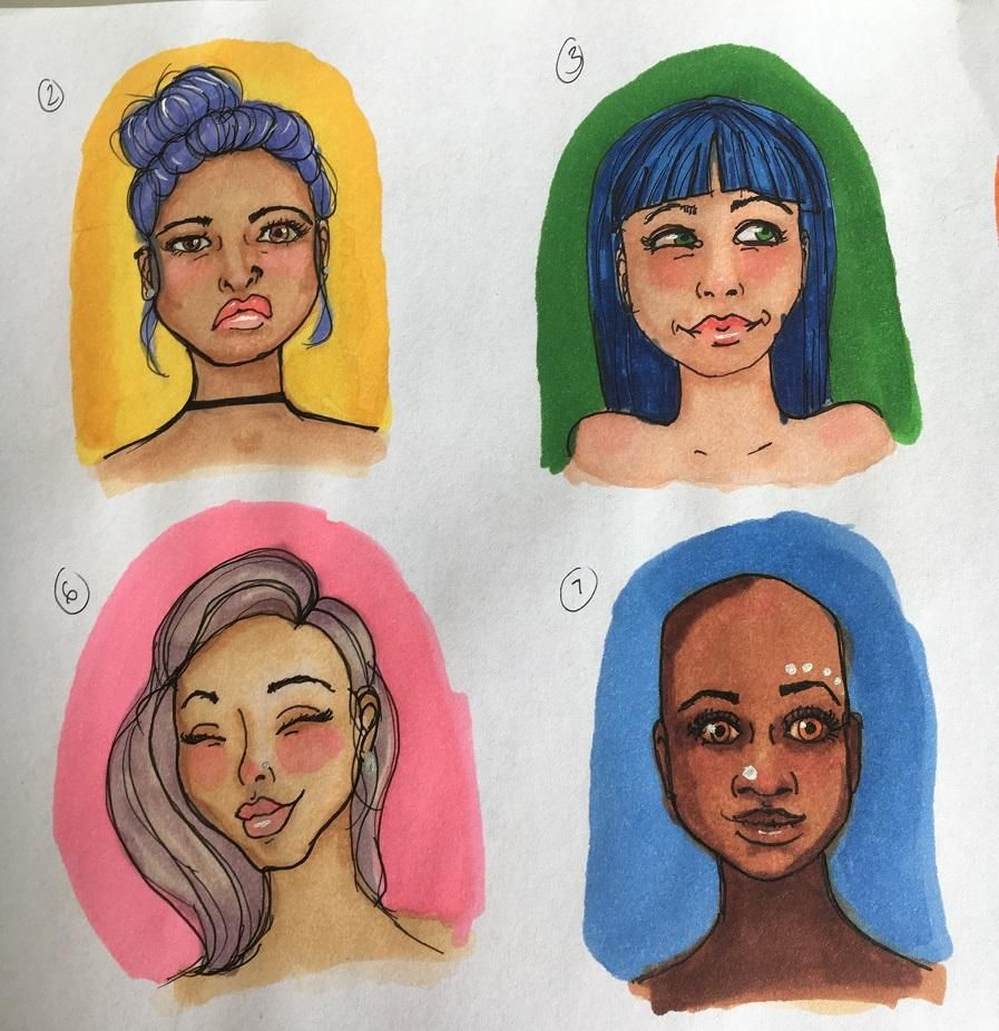 My little faces :) - image 5 - student project