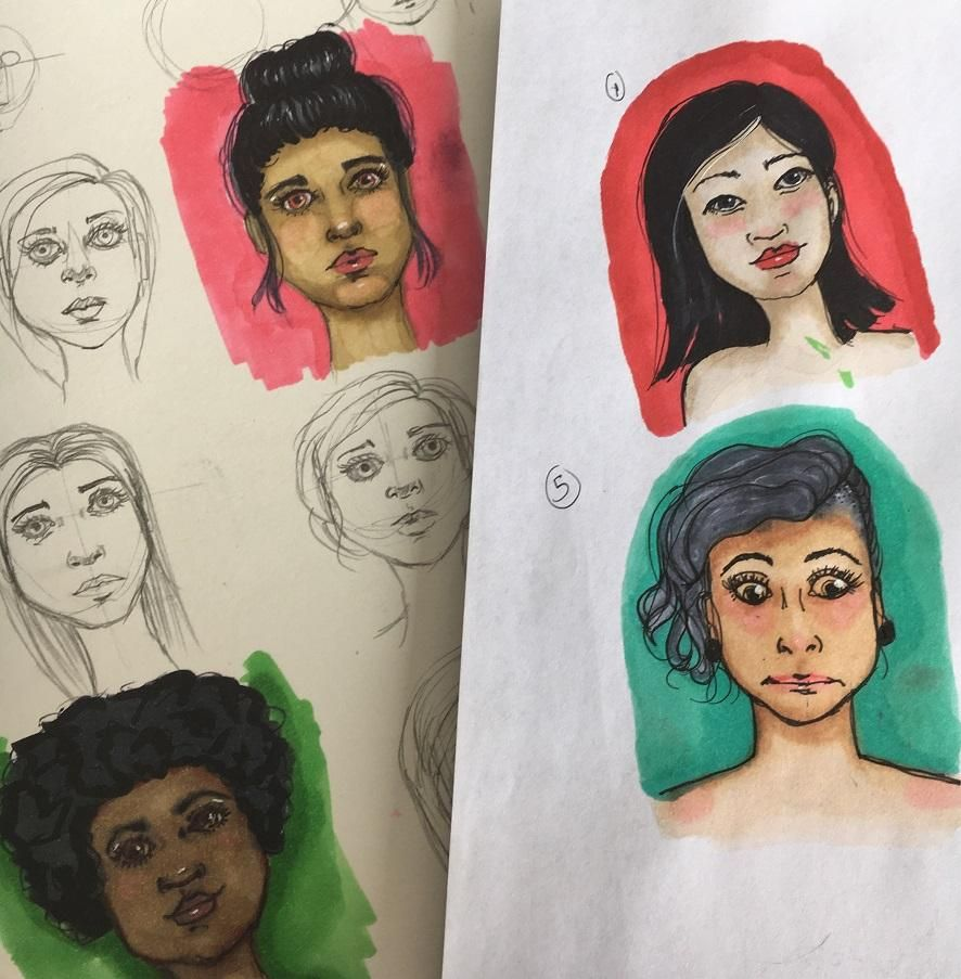 My little faces :) - image 4 - student project