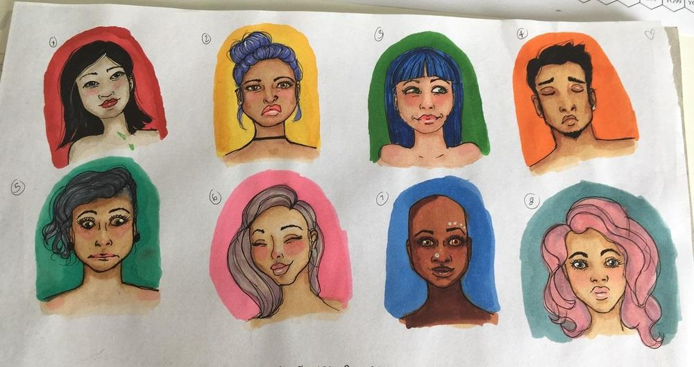 My little faces :) - image 3 - student project
