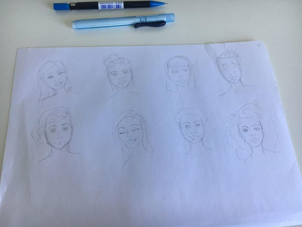 My little faces :) - image 1 - student project
