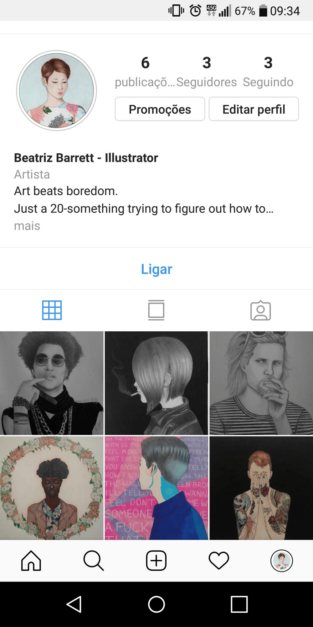 @biabarrett, new instagram art account! - image 1 - student project