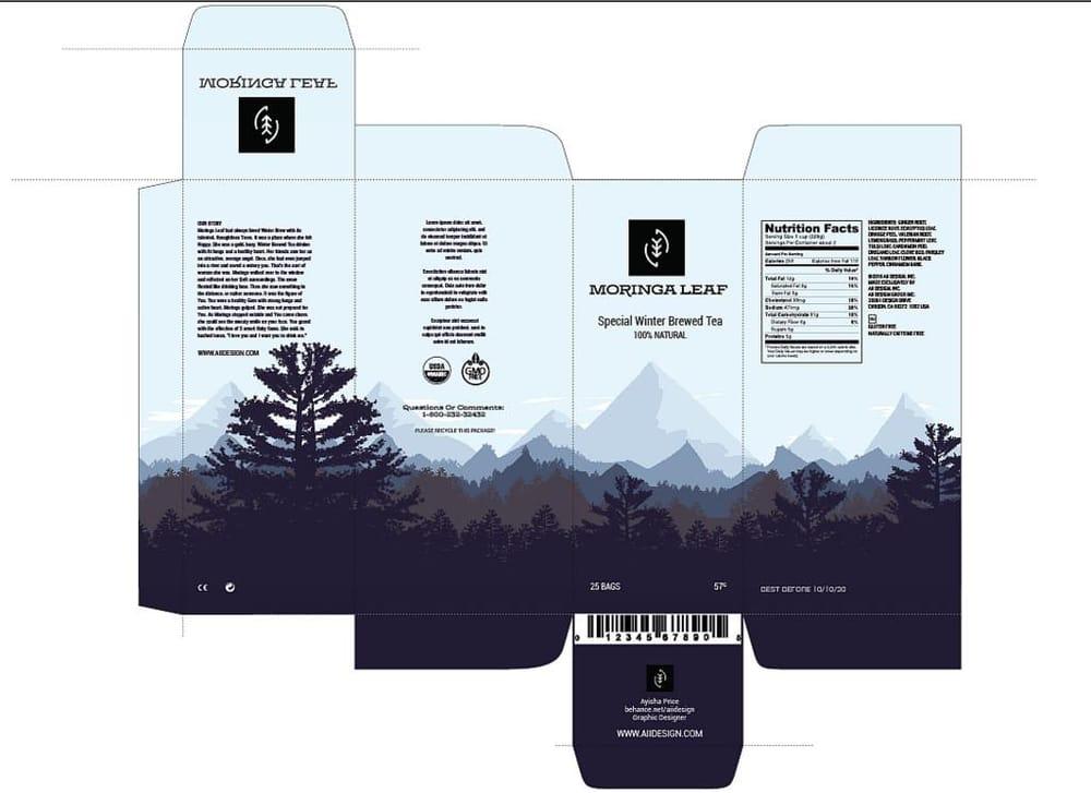 Teabox Design  - image 1 - student project