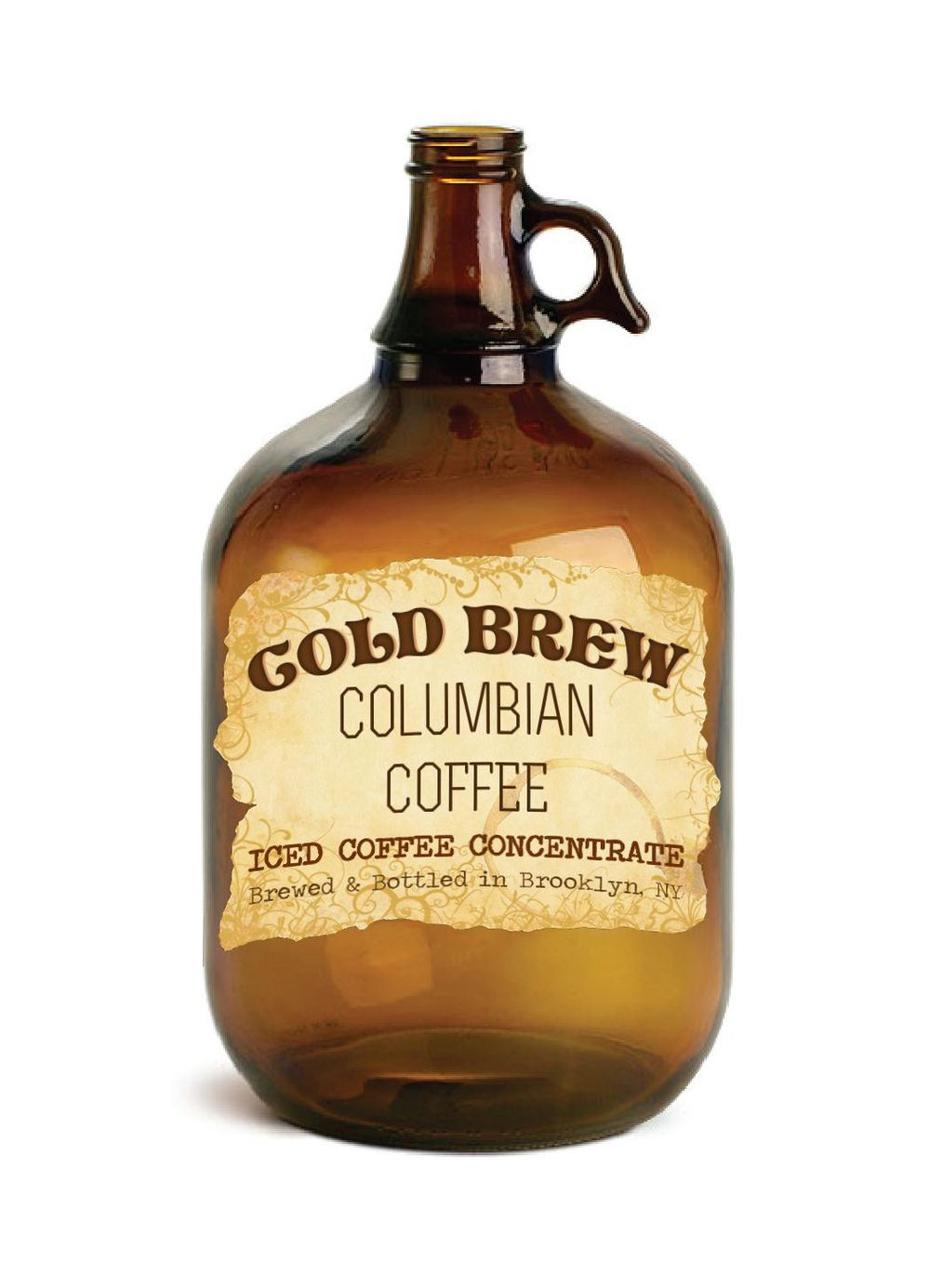 Cold Brew Coffee Label Design - image 1 - student project